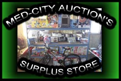 Med-City Auction's Surplus Store
